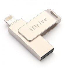 ส่วนลด Idrive Idiskk Pro Usb 2 16Gb Gold แฟลชไดร์ฟสำรองข้อมูล Iphone Ipad แบบหมุน