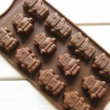 ราคา Ilovebaby Robots Silicone Chocolate Cake Candy Soap Muffin Pan Ice Tray Baking Mold Mould Diy ราคาถูกที่สุด