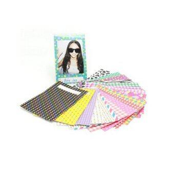 Mulba 60 Different Colorful Sticker Borders for Fuji Instax Mini Film