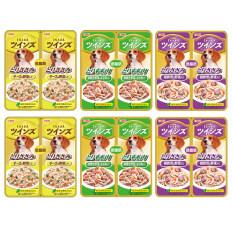 ราคา Inaba อาหารสุนัขชนิดเปียกคละ 3 รส ใส่ผักในเยลลี่ 40 กรัมแพ็คคู่ X 6 แพ็คคู่