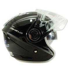ซื้อ Index หมวกกันน๊อค Titan 5 หน้ากาก 2 ชั้น สีดำเงา ออนไลน์ ถูก