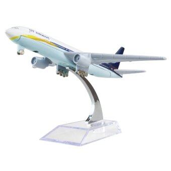 India Jetstar Airways Boeing 777 16cm Airplane Models Birthday Gift Plane Models Toys