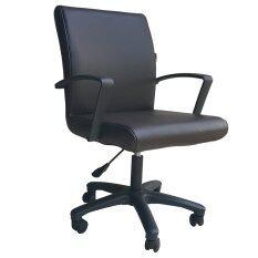 ทบทวน Inter Steel เก้าอี้สำนักงาน ระบบโช๊คแก็ส รุ่น Office Chair02 เบาะหนังสีน้ำตาล
