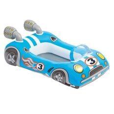 ซื้อ Intex เรือยางเด็ก Pool Cruiser ลายรถแข่ง สีฟ้า ใหม่