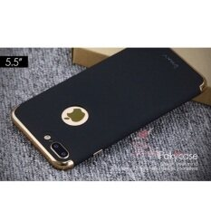 Ipaky Back Case Metal 3In1 For Iphone 7 Plus สีดำ Ipaky ถูก ใน กรุงเทพมหานคร