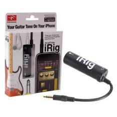 ซื้อ Irig Amplitube Effect Guitar อุปกรณ์เพิ่มเอฟเฟคเสียงต่อกีต้าร์ กับ Iphone Black Irig ออนไลน์