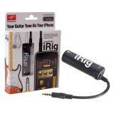 ราคา Irig Amplitube Effect Guitarอุปกรณ์เพิ่มเอฟเฟคเสียงต่อกีต้าร์ กับIphone Black Irig เป็นต้นฉบับ