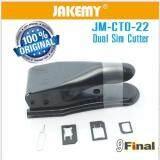 ขาย Jakemy Jm Ct0 22 คัตเตอร์ตัดซิม ได้ 2 แบบ Dual 2 In 1 Nano Micro Sim Card Cutter Black Color ไทย