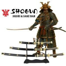 ราคา Japan ดาบโชกุนญี่ปุ่น Shogun มี 3 เล่ม 3 ขนาด ตีตราสมัยเอโดะ แท่นวาง ใน กรุงเทพมหานคร