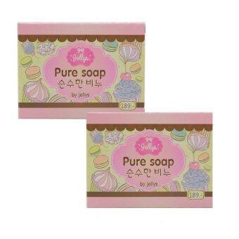 Jelly Belly Pure Soap สบู่เจลลี่ 100 g. (2 ก้อน)