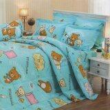 ราคา Jessica ชุดเครื่องนอน ลายการ์ตูน ลิขสิทธิ์ ริลัคคุมะ รุ่น Rk005 Jessica Rilakkuma S Bed Sheet No Rk005 ใน กรุงเทพมหานคร