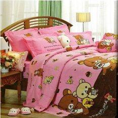 Jessica ชุดผ้าปูที่นอน ไม่รวมผ้านวม ลายหมีริลัคคุมะ รุ่น Rk003 ถูก