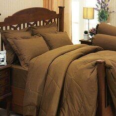 ส่วนลด Jessica ชุดผ้าปูที่นอนสีพื้น ไม่รวมผ้านวม รุ่น Brown Jessica กรุงเทพมหานคร
