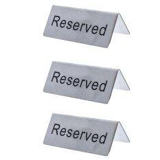 ขาย Jjr ป้ายจองโต๊ะ Reserved บรรจุ 3 ชิ้น Jjr ถูก