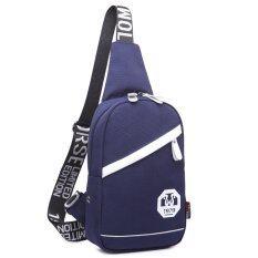 ซื้อ Jjun กระเป๋าสะพายไหล่ คาดอก Blue ใน ไทย