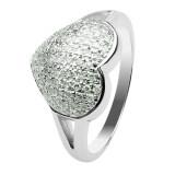 ราคา Josh John Designs แหวนเพชรรูปหัวใจ ทำจากเงินแท้ 925 เป็นต้นฉบับ