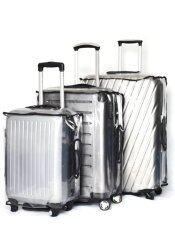 Joyyventure พลาสติกใสคลุมกระเป๋าเดินทางกันริ้วรอยและน้ำ ขนาด 20 นิ้ว 25 นิ้ว 29 นิ้ว สีใส ไทย