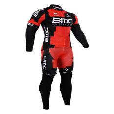 ขาย Jpbike ชุดปั่นจักรยาน Bmc 2015 Red Sleeve Long สีแดง Jpbike ออนไลน์