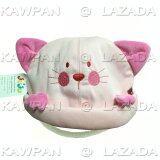 โปรโมชั่น Juju หมวกทรงลูกแมว มีสายรัดคางสีชมพู Juju