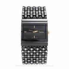 ขาย Julius นาฬิกา รุ่น Ja 435 Black สีดำ ราคาถูกที่สุด