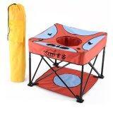 ราคา Jumper Kids เก้าอี้สนามสำหรับเด็ก พร้อมถุงผ้าพกพา สีแดง ที่สุด