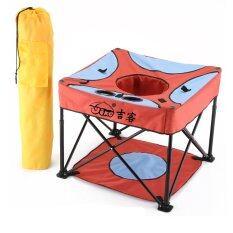 ราคา Jumper Kids เก้าอี้สนามสำหรับเด็ก พร้อมถุงผ้าพกพา สีแดง ไทย