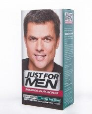 Just For Men Shampoo-In Haircolor Natural Dark Brown.