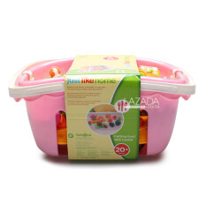 JUST LIKE HOME KITCHEN PLAYSET WITH BASKET 864525-2