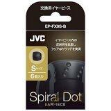 ส่วนลด Jvc จุกซิลิโคนอินเอียร์ รุ่น Spiral Dot Ep Fx9S ขนาด Small Black Jvc ใน ไทย
