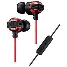 JVC หูฟังอินเอียร์พร้อมไมค์ รุ่น HA-FX33XM-RB (Red/Black) ประกันศูนย์ไทย