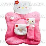 ราคา ราคาถูกที่สุด K Baby ชุดที่นอนผ้าขนหนู รูปคิตตี้ สีชมพู