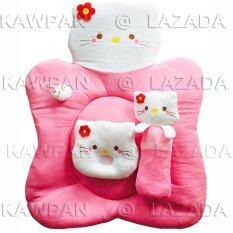 ขาย K Baby ชุดที่นอนผ้าขนหนู รูปคิตตี้ สีชมพู ออนไลน์