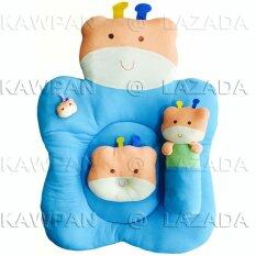 K.baby ชุดที่นอนผ้าขนหนู รูปกวาง (สีฟ้า).