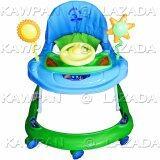 ราคา K Baby รถหัดเดิน รูปรถยนตร์ ปรับระดับได้ มีไฟ เสียงดนตรี สีฟ้า เขียว K Baby เป็นต้นฉบับ