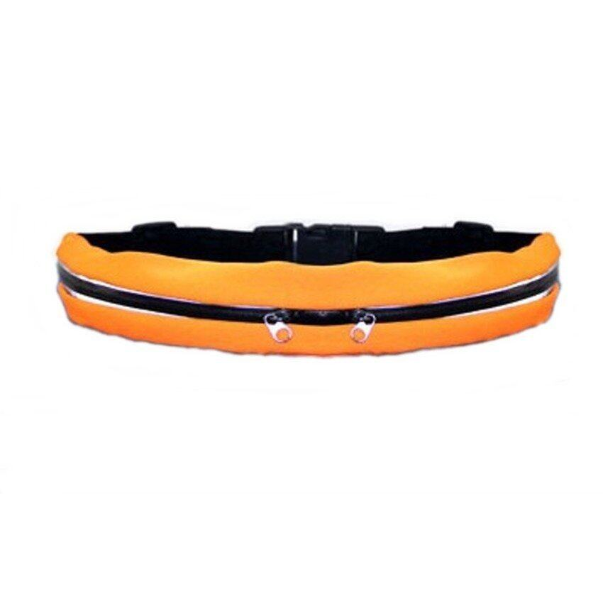 K&K Sport Pocket and Running Belt in - Orange
