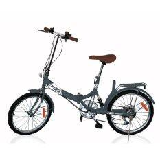 ซื้อ K Pop จักรยานพับ 20นิ้ว 3 Speed รุ่น Kp 2003Yst Gr Gray ใหม่