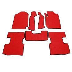 ราคา K Rubber พรมปูพื้นเข้ารูป Mazda Bt 50 Pro Cab สีแดง ลายกระดุม ชุด 7 ชิ้น