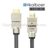 ราคา Kaiboer สาย Hdmi Cable เวอร์ชั่น 2 รุ่น A Series Hi End Series ยาว 3เมตร เป็นต้นฉบับ