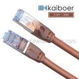 ขาย Kaiboer สายแลน Lan Cat7 Rj45 Sstp Ethernet Network Cable Brown ยาว 20เมตร ถูก