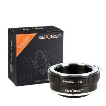 K&F Concept PB to FX Praktica PB to Fuji adapter-