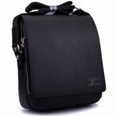 ราคา Kangaroo Kingdom กระเป๋าสะพายข้าง Messenger Style Bag รุ่น 4363 สีดำ Kangaroo Kingdom เป็นต้นฉบับ