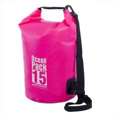 ขาย Karana กระเป๋ากันน้ำ Ocean Pack 15L Pink
