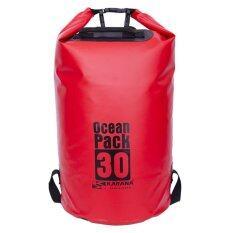 ขาย ซื้อ Karana กระเป๋ากันน้ำ Ocean Pack 30L Red