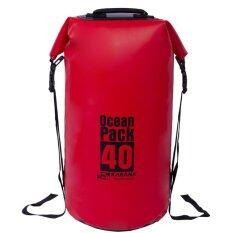 Karana Ocean Pack 40L กระเป๋ากันน้ำ - Red