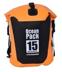 Karana Oceanpack Backpack 15 L กระเป๋ากันน้ำ Orange Thailand