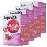 ราคา Karmart Jejuvita ผลิตภัณฑ์เสริมอาหารกลูต้าคอลลเจนชงดื่ม กลูตาโต้ 15000 Mg กล่องละ 6 ซอง 4 กล่อง Karmart ออนไลน์