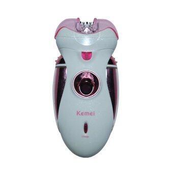 Kemei เครื่องกำจัดขน 4 in 1 รุ่น KM-2530 (Pink)