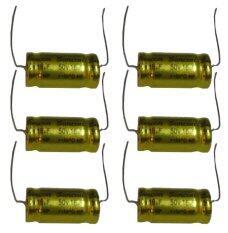 ราคา คอนเดนเซอร์ 16 Mf 50V ตัวป้องกันลำโพงเสียงกลาง แพ็ค 6 ตัว ใหม่