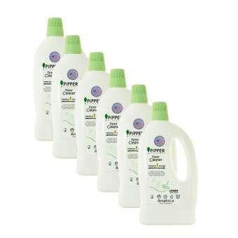 ขายยกลัง Pack 6 PiPPER STANDARD ผลิตภัณฑ์ทำความสะอาดพื้นกลิ่นลาเวนเดอร์ แบบขวด 800 มล. (FC800 904107-