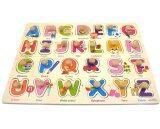 ราคา Kidsshop Hatyai ของเล่น เสริมทักษะ จิ๊กซอว์ไม้หมุดแม่เหล็ก เรียนรู้คำศัพท์ ชุด Abc Kidsshop Hatyai เป็นต้นฉบับ